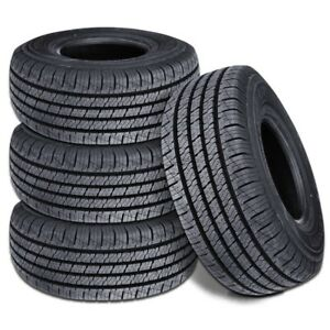 4 New Lionhart Lionclaw HT P265/70R16 111T All Season Performance Tires