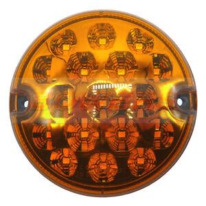 95 Mm Amber Del Ronde Indicateur Lampe Lumière Upgrade Land Rover 90 110 Defender Nas-afficher Le Titre D'origine Troaz6gx-07221212-451887821