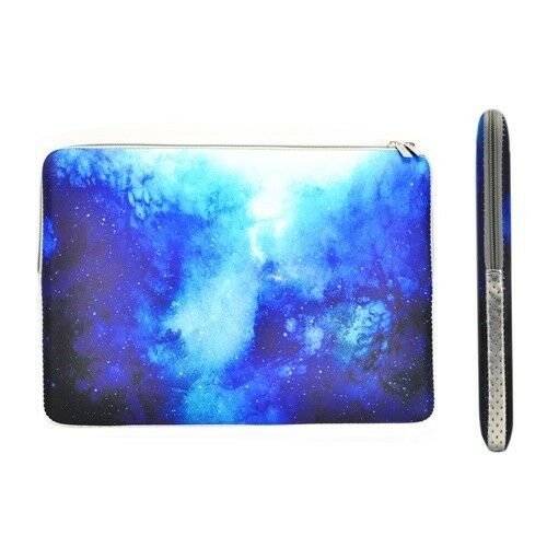 """BLUE Galaxy Graphic Case for Macbook Pro 13/"""" A1278 Bag Keyboard Cover LCD"""