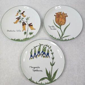 Set-3-NONSENSE-Plates-Taste-Setter-by-Sigma-Made-in-Japan-Villa-Vanilla-7-1-2-034