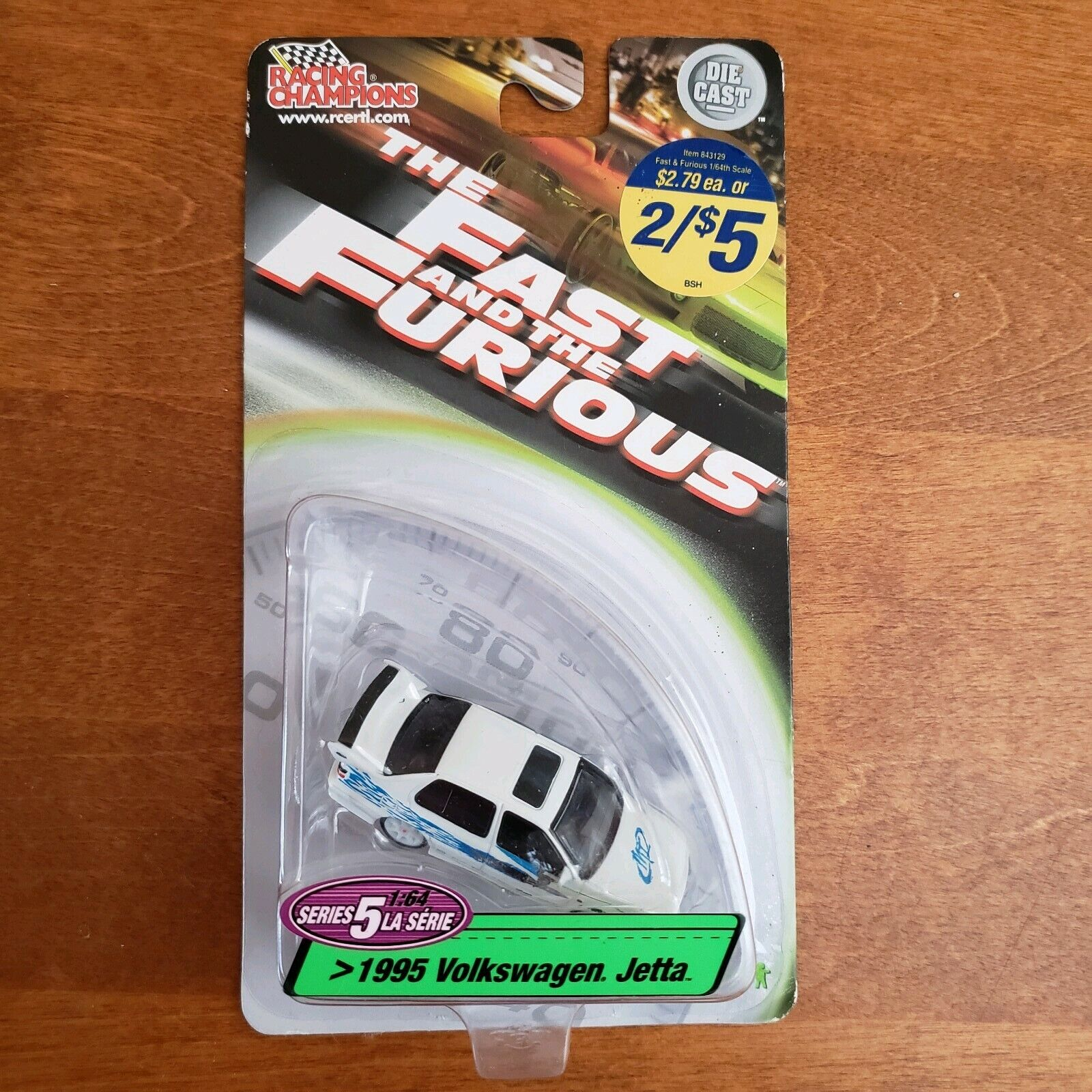 VERY RARE The Fast And The Furious Series  5 1 64 Set