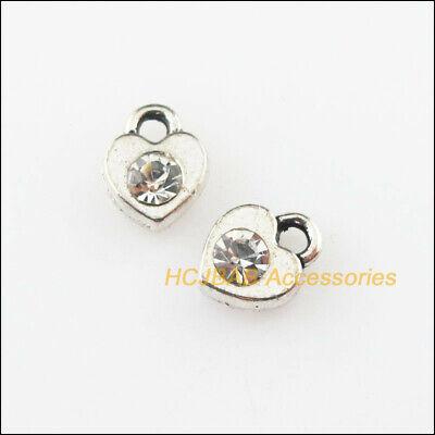 BULK 50 Daisy  charms tibetan silver F3