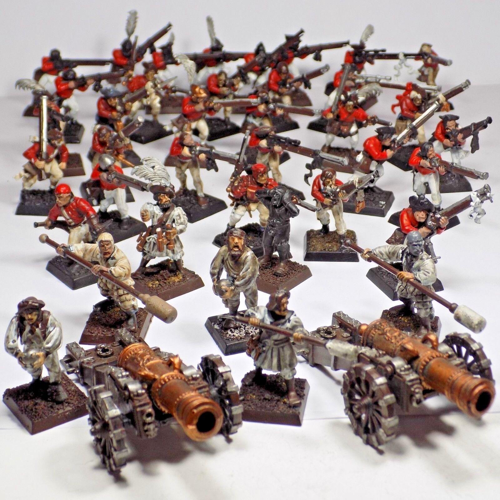 Reich, freie menschen gilde kanone crew handgunners 28mm englischen roten zahlen