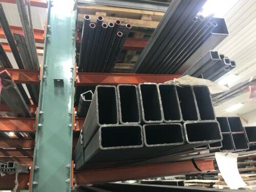 "Steel Rectangular Tube 2/"" x 4/"" x .125/"" x 36/"""