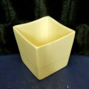 Vintage-MCM-Haeger-Pottery-Matte-White-Square-Succulent-Planter-3716-4-25-034