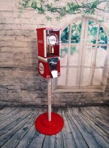 gumball-machine-vintage-Coca-cola-Coke-memorabilia-bar-decor-gift-office