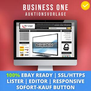 Black-One-eBay-Template-Auktionsvorlage-Verkaufsvorlage-Ebayvorlage-Responsive