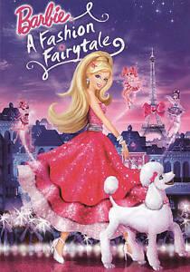 Barbie : A Fashion Fairytale - DVD New, Free shipping