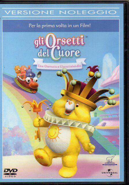 GLI ORSETTI DEL CUORE - UNA GIORNATA A GIOCATTOLANDIA - DVD (USATO EX RENTAL)