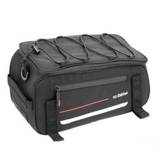 Sacoche de vélo sur porte bagages ZEFAL Z Traveler 40 noir 9 litres rangement