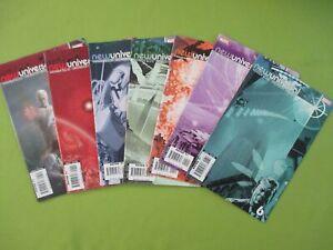 NEW UNIVERSAL no 1 + 1 Variant + 2 - 6 Warren Ellis US MARVEL 2007
