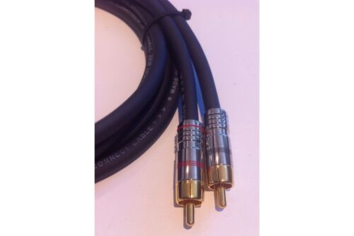 Straightwire Symphony II RCA Audio Interconnect Cable 1 Meter Pair NEW!