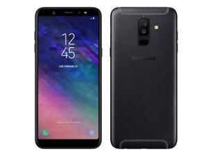 Samsung A6 2018 32GB Unlocked 5.6'' Display Black A600P Smartphone