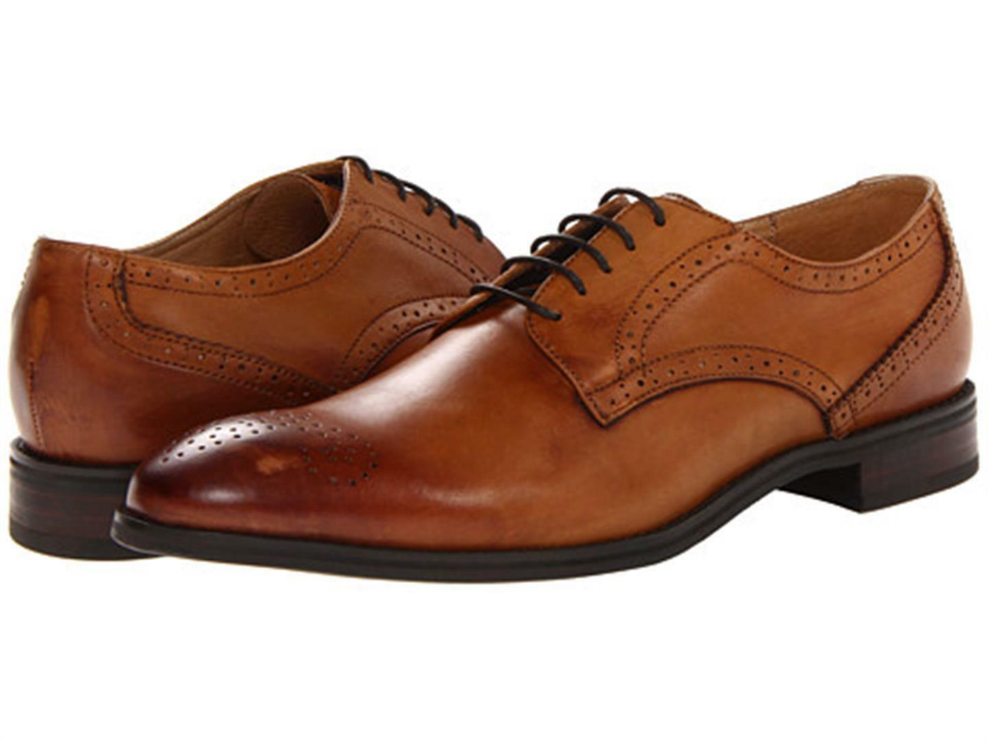 profitto zero New  JD Fisk Uomo Gilby Wingtip Wingtip Wingtip Oxford  -  sz 9 M (NWB)  alla moda