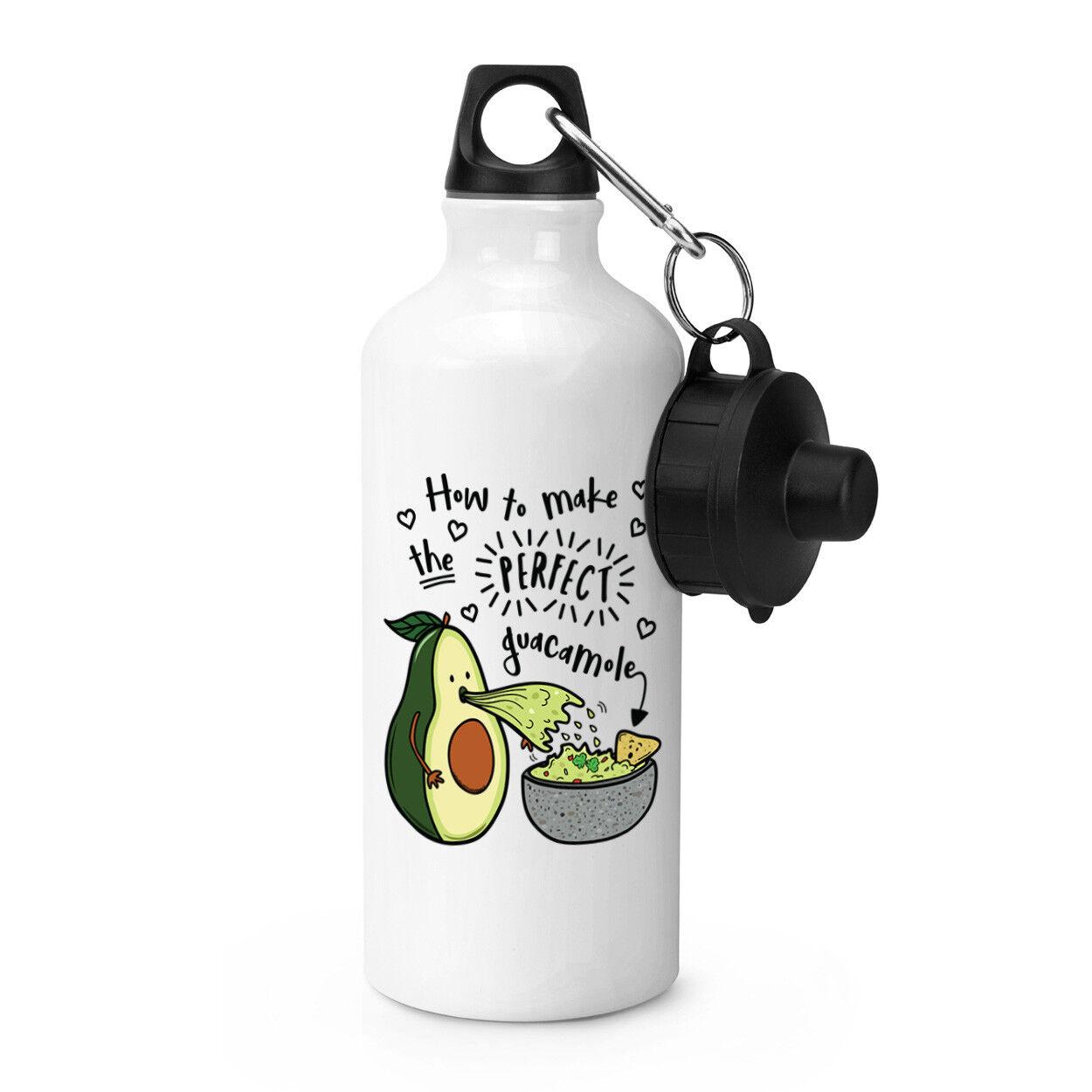 Comment faire le parfait Guacamole Sports boissons boissons boissons bouteille-Drôle d'avocat Blague 241e83