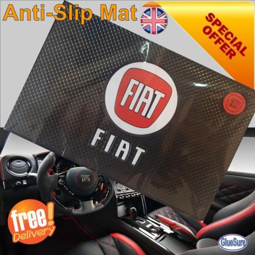 Fiat Coche Dashboard Tablero de agarre antideslizante Mat Anti diapositiva teléfono clave monedas pegajoso