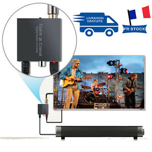 Convertisseur numérique SPDIF optique Toslink à Coaxial Bi-derectional Swither