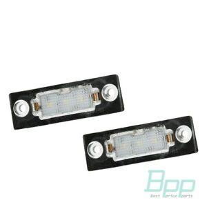 LED-Kennzeichenbeleuchtung-VW-T5-Passat-3C-B6-Caddy-Touran-1T1-Golf-Plus-5M