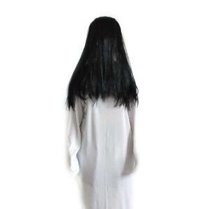 Details About Amosfun Sadako Cosplay Costume Halloween Party Haunted House Ghost Dress Up Hf0