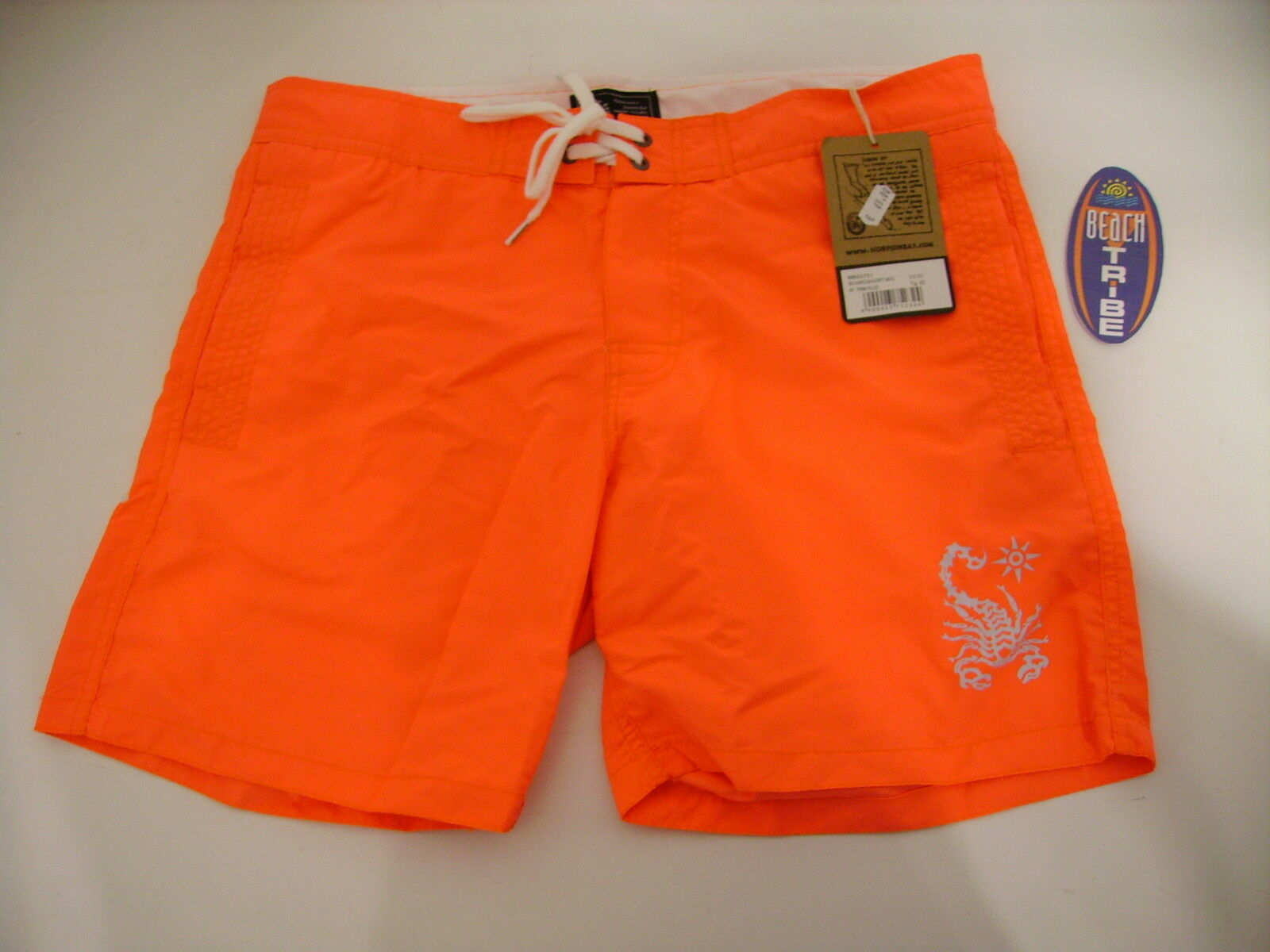SCORPION BAY BOARDSHORT SHORTS SEA COSTUME MBS2751 67 PINK FLUO SIZE 36