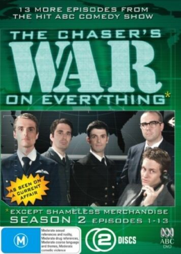 1 of 1 - Chaser's War On Everything : Series 2 : Vol 1 (2-Disc Set) EP 1-13- LIKE NEW