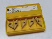 6 Kennametal Vnmg 332 Mp Kc9215 Carbide Inserts