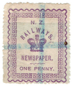 I-B-New-Zealand-Railways-Newspaper-Stamp-1d