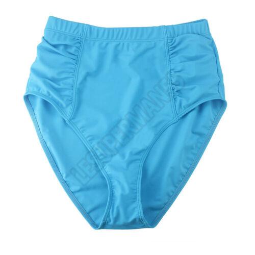 Übergroß Damen Monokini Bademode Badeanzug Schwimmanzug Neckholder Quaste Bikini