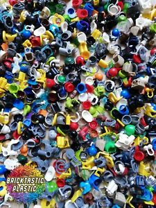 LEGO-PARTS-X30-HAT-HELMET-HAIR-WAIST-FEET-WEARABLE-MINIFIGURE-BULK-ACCESSORIES