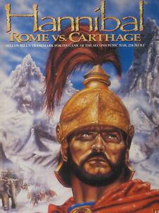 Hannibal Rome Vs Carthage Ah Avalon Hill Complete High Quality