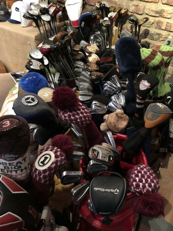 36 MIXED SET OF CLUBS