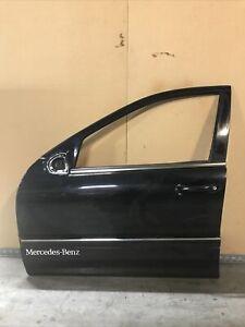 2002 Mercedes-Benz C32 Amg Left Front Driver Door Frame Complete Black OEM