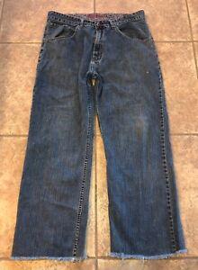 Robert-Graham-Mens-Blue-Medium-Wash-100-Cotton-Casual-Jeans-40-X-34-DESCRIPTION