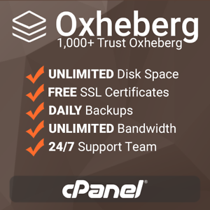 cPanel based with free SSL/'s 1 Year Unlimited SSD Website Web Hosting support