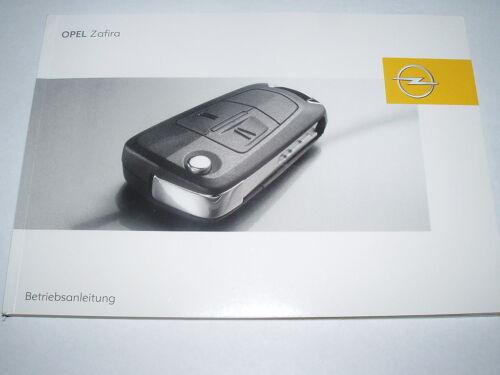 #baz0405 edizione 04//2005 Manuale di istruzioni OPEL ZAFIRA B nuovo