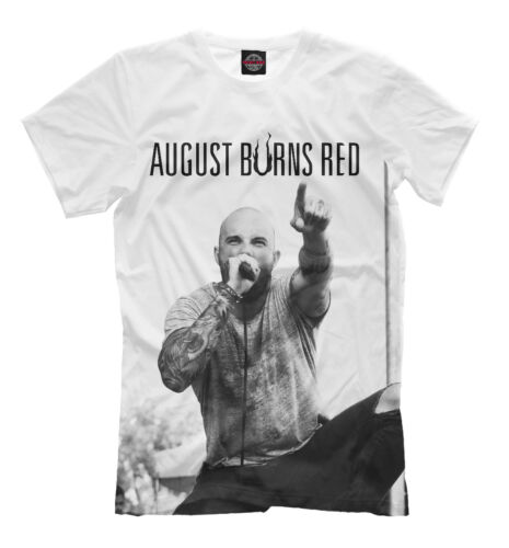 """August Burns Red tee William Jacob /""""Jake/"""" Luhrs metalcore band t-shirt"""