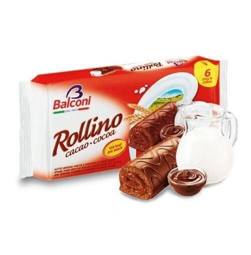 Balconi Rollino Kleine Kuchen Latte Milch 2 Packungen X 222g