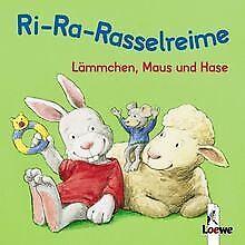 Lämmchen, Maus und Hase (Pappbilderbuch  mit inte... | Buch | Zustand akzeptabel