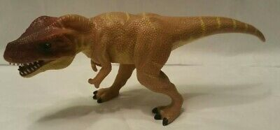 "2004 T-rex Tyrannosaurus Dinosaur K & M 8"" Hard Figure Carefully Selected Materials"