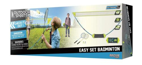 ES466 Easy Set OPP Badminton Set-Garden Games-Sports de plein air