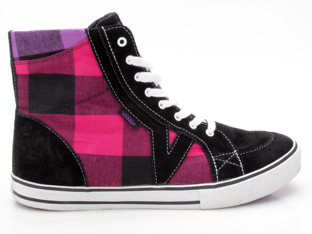 Vans Tory Hi VN-0 HJ23ST schwarz-pink Buff Plaid schwarz-pink HJ23ST fee1fa