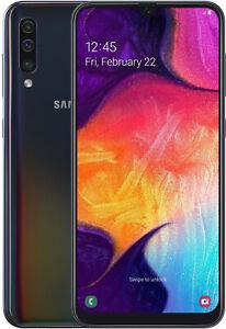 Samsung-Galaxy-A50-SM-A505F-DUAL-SIM-Schwarz-TOP-Zustand