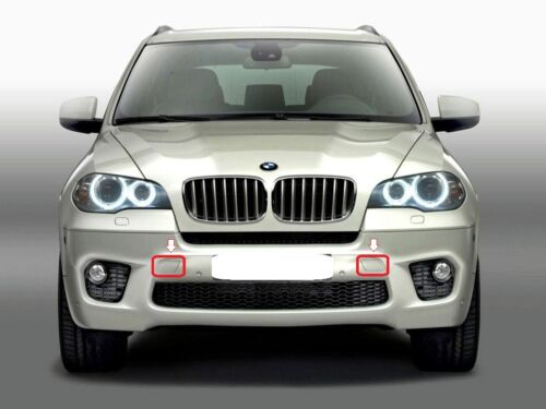 BMW Genuine X5 E70 LCI Anteriore M Sport Paraurti Rimorchio COVER KIT dipinto da il tuo colore