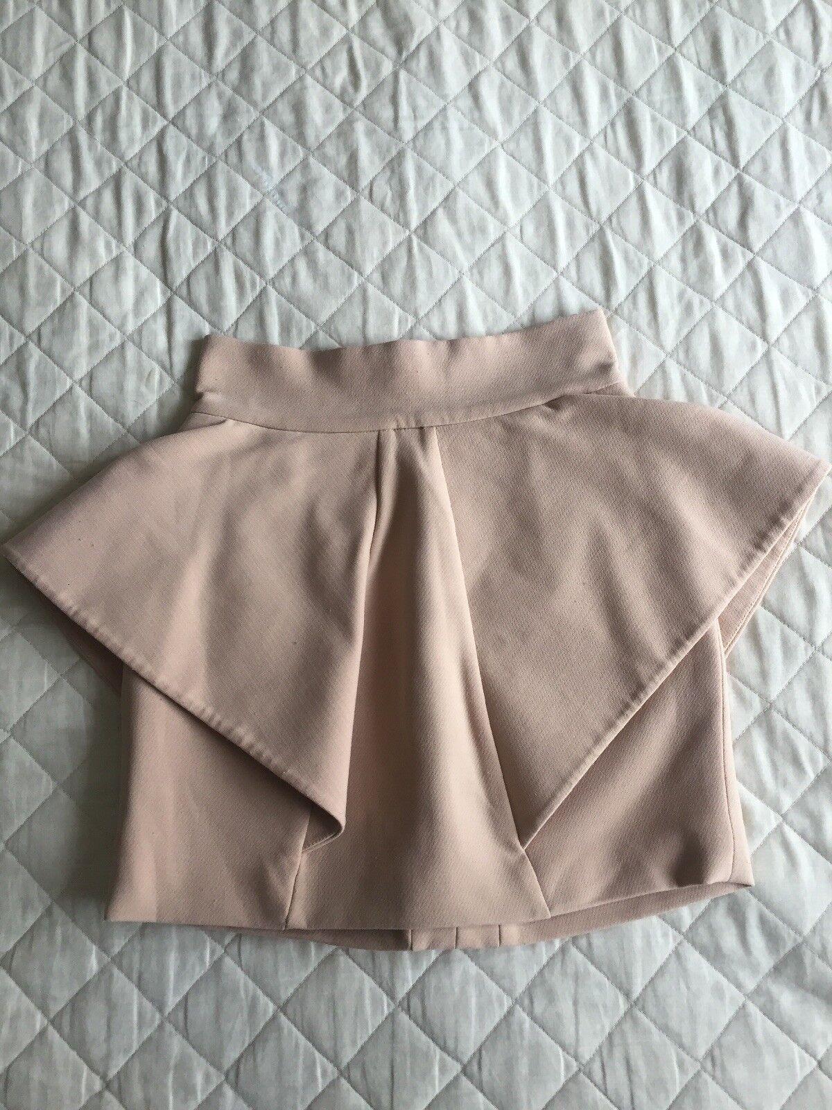 Womens Camel Coloured AQUA Skirt Size 6