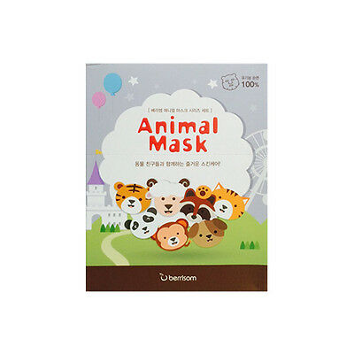 [BERRISOM] Animal Mask Series 7Set - 1pack (25ml x 7pcs)