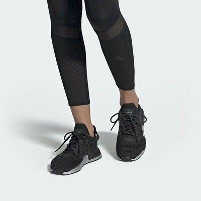 Adidas Women's Originals NMD R1 V2 Black Black-Silver FW5449 SIze 11 US.   eBay