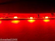 Rosso PC Modding SINGOLO 40 cm striscia 3 pin connettore Mobo Retroilluminazione Case Striscia LED