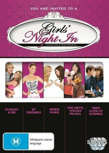 1 of 1 - Girls' Night In - Romance Collection (DVD, 2011, 5-Disc Set) -- Free Postage --