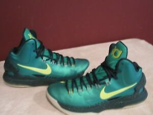 best sneakers 78772 e5ab1 Image is loading NIKE-KD-V-INCREDIBLE-HULK-554988-300-BASKETBALL-