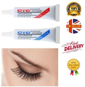 18b312ffc88 Image is loading False-Eyelash-Glue-Adhesive-Strong-Waterproof-Eye-Lash-